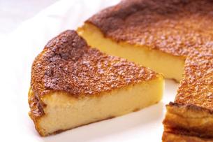 ベイクドチーズケーキの写真素材 [FYI04790181]
