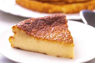 ベイクドチーズケーキの写真素材 [FYI04790182]