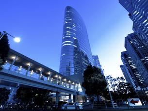 東京都 品川駅前の高層ビル街の写真素材 [FYI04790509]