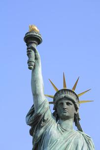 お台場の自由の女神の写真素材 [FYI04791079]
