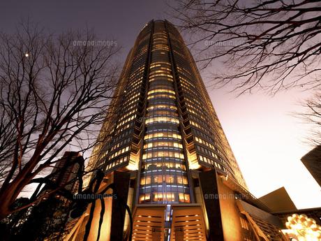 夕暮れの六本木ヒルズ 東京都の写真素材 [FYI04791630]