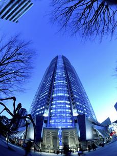 夕暮れの六本木ヒルズ 東京都の写真素材 [FYI04791633]
