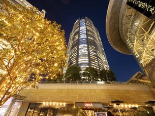 夕暮れの六本木ヒルズ 東京都 の写真素材 [FYI04791682]