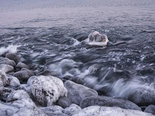 冬の海の写真素材 [FYI04792173]