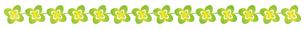 四つ葉のクローバーのラインのイラスト素材 [FYI04792216]