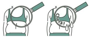 肥満の女性の背中-クローズアップ-2色のイラスト素材 [FYI04792440]
