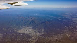 空から丹沢山地の写真素材 [FYI04792478]