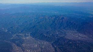 空から丹沢山地の写真素材 [FYI04792479]