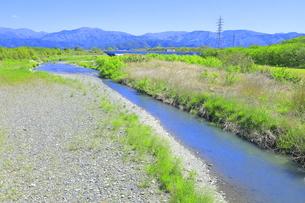 国友橋からの姉川の写真素材 [FYI04792572]