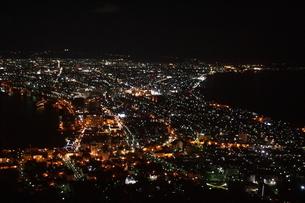 函館山の夜景の写真素材 [FYI04792871]