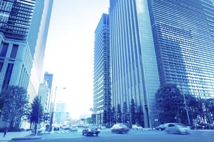 ビジネス街の写真素材 [FYI04792917]