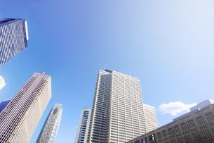 西新宿のビル群の写真素材 [FYI04792929]