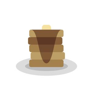 ホットケーキ イラストのイラスト素材 [FYI04793004]