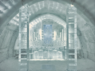 氷の建物の写真素材 [FYI04793288]