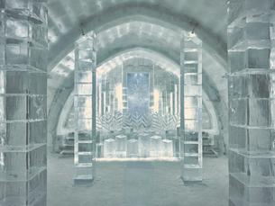 氷の建物の写真素材 [FYI04793289]