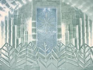 氷の建物の写真素材 [FYI04793290]