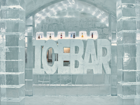 氷の建物の写真素材 [FYI04793291]