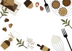 マフィン カップケーキ お菓子作り イラストのイラスト素材 [FYI04793458]