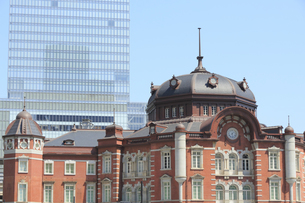 東京駅赤煉瓦駅舎の写真素材 [FYI04793651]