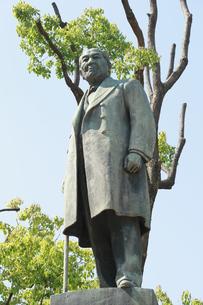 渋沢栄一像の写真素材 [FYI04793656]