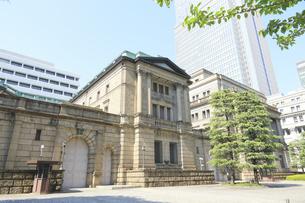 日本銀行本店の写真素材 [FYI04793659]