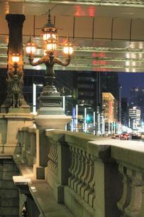 日本橋の夕景の写真素材 [FYI04793668]