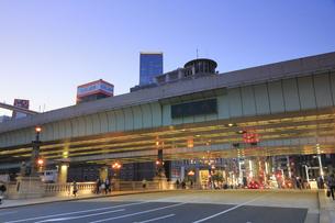 日本橋の夕景の写真素材 [FYI04793710]
