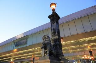 日本橋の夕景の写真素材 [FYI04793711]