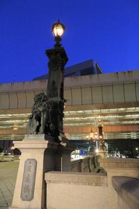 日本橋の夕景の写真素材 [FYI04793716]