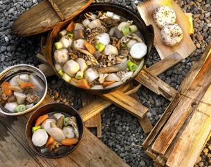芋煮会の写真素材 [FYI04793892]