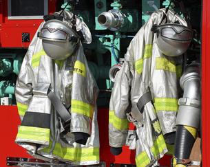 消防服の写真素材 [FYI04794098]