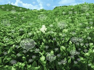 二酸化炭素排出のイラスト素材 [FYI04794765]