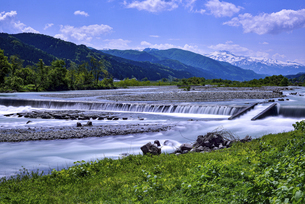 山形県庄内町 立谷沢川の写真素材 [FYI04794806]