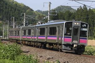 田沢湖線 701系5000番台の写真素材 [FYI04794868]