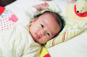 赤ちゃんの写真素材 [FYI04795380]
