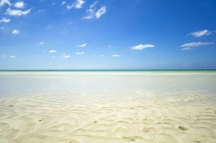美しい17ENDのビーチから水平線を望むの写真素材 [FYI04795609]