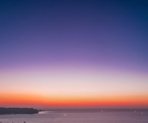 山口県 風景 日本海夕景 の写真素材 [FYI04795741]