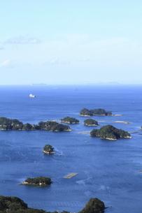展海峰からの九十九島の景色(縦位置)の写真素材 [FYI04795797]