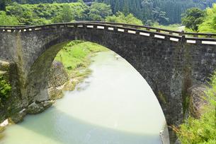 夏の霊台橋の写真素材 [FYI04795955]