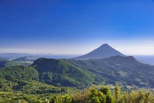 大野岳から望む開聞岳の写真素材 [FYI04795987]