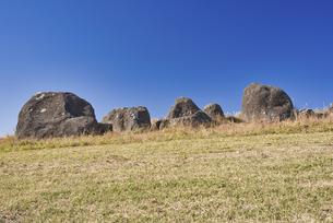 秋の押戸石の丘の写真素材 [FYI04795995]