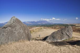 秋の押戸石の丘の写真素材 [FYI04795996]