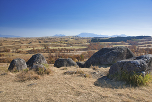 秋の押戸石の丘の写真素材 [FYI04795997]