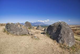 秋の押戸石の丘の写真素材 [FYI04795998]