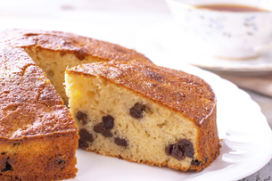バターケーキの写真素材 [FYI04796487]