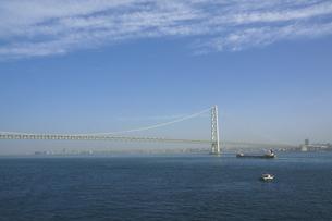 明石海峡大橋と神戸市垂水区の写真素材 [FYI04796516]