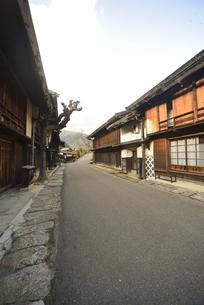 中山道妻籠宿の写真素材 [FYI04797300]