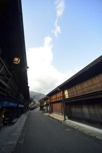 木曽路妻籠宿の写真素材 [FYI04797302]