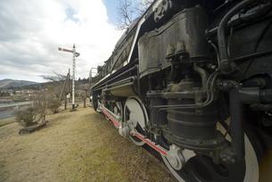 蒸気機関車の写真素材 [FYI04797315]