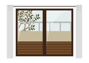 窓 ベランダ インテリアのイラスト素材 [FYI04797331]